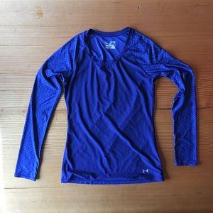 Long sleeve under armour heat gear shirt